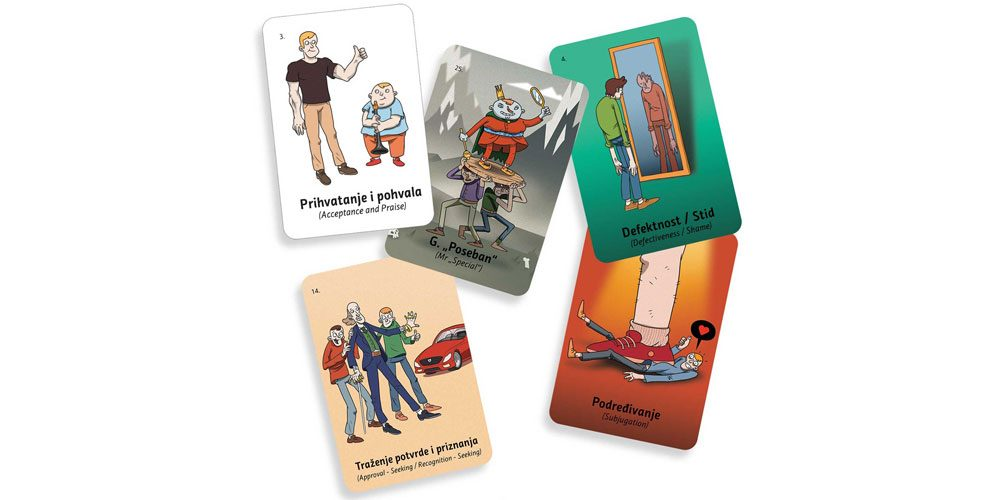 Schema Therapy Cards Set